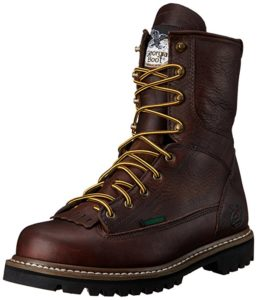Industrial work boots from Georgia