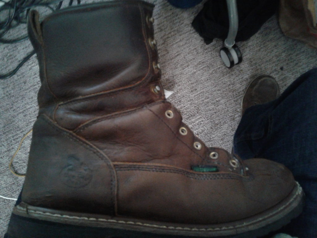 Boot After initial soaping