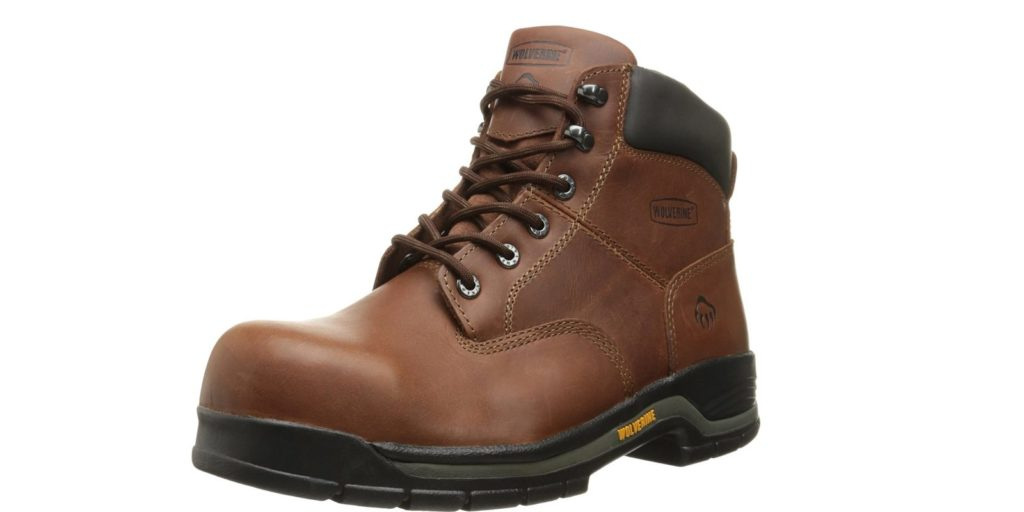 "Wolverine Mens Harrison Lace-up 6"" Work Boot"
